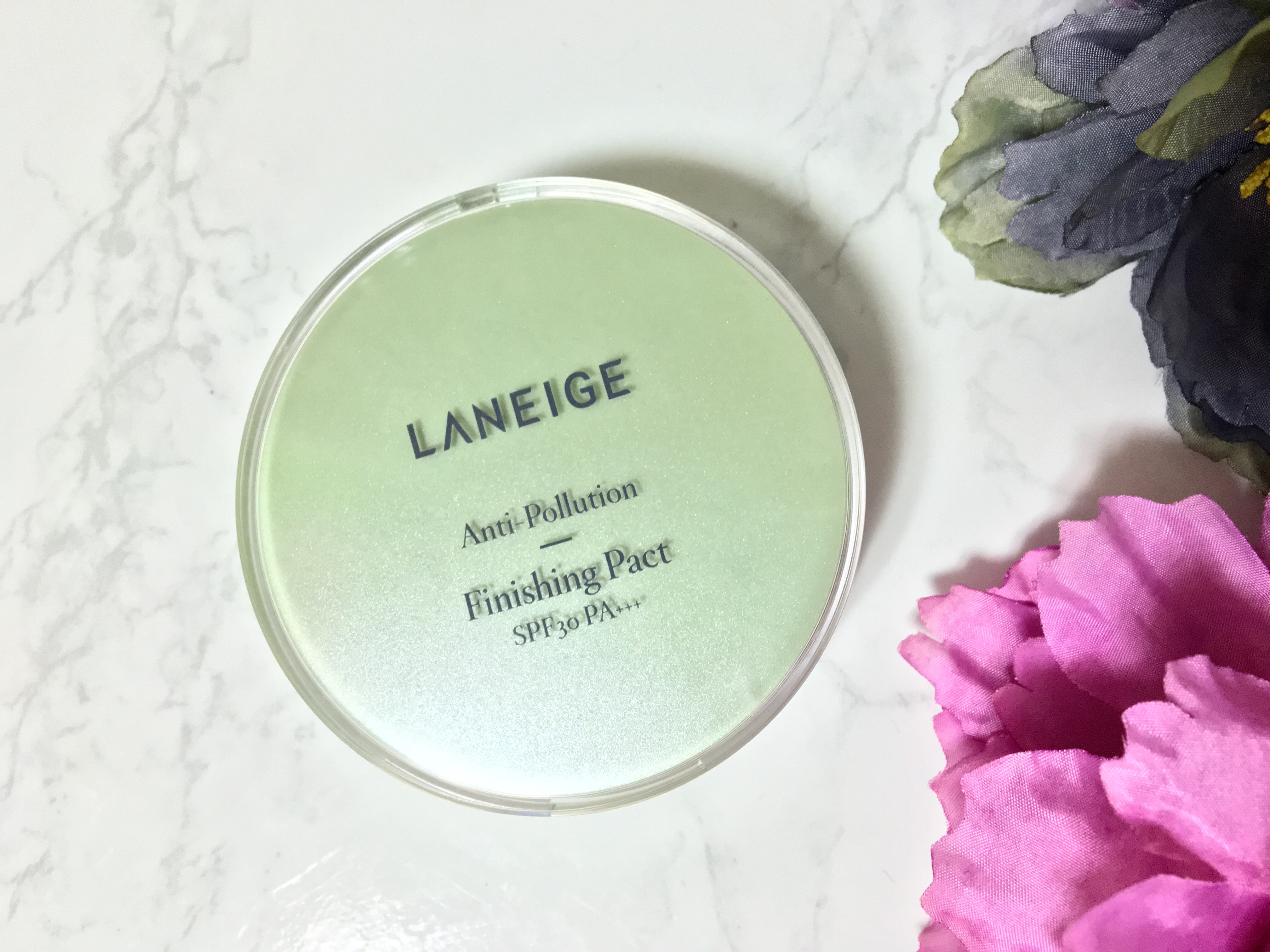 green face powder laneige anti pollution finishing pact review skinfullofseoul. Black Bedroom Furniture Sets. Home Design Ideas